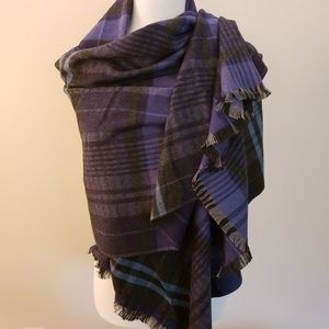 Chesley Purple, Blue, Gray Scarf…